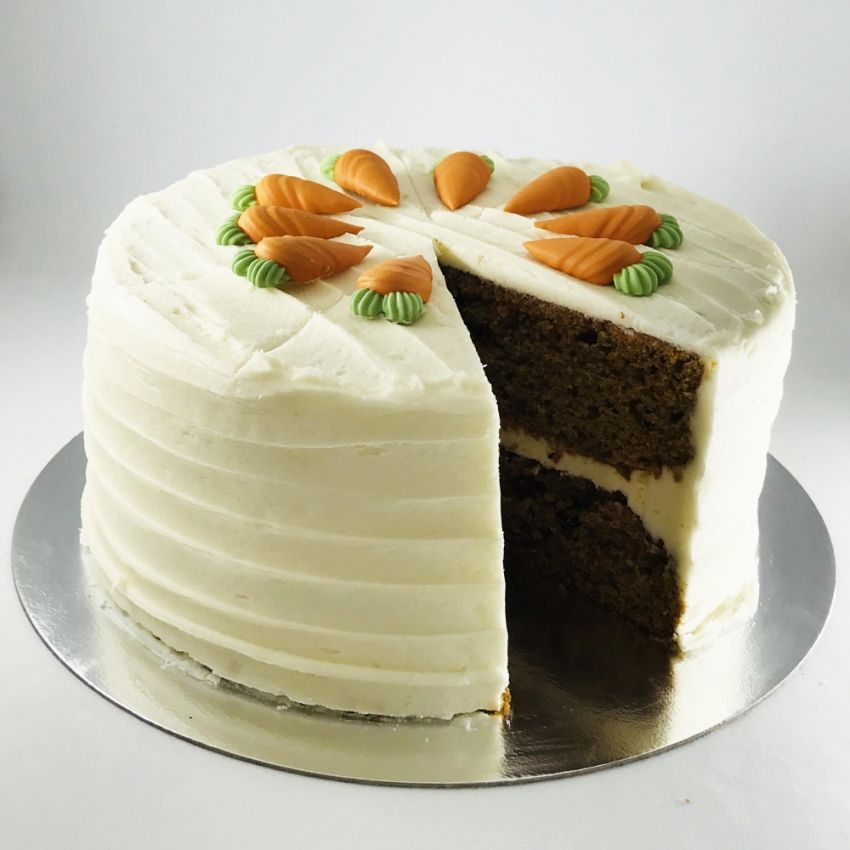 Carrot Cake (10 Large Slices)