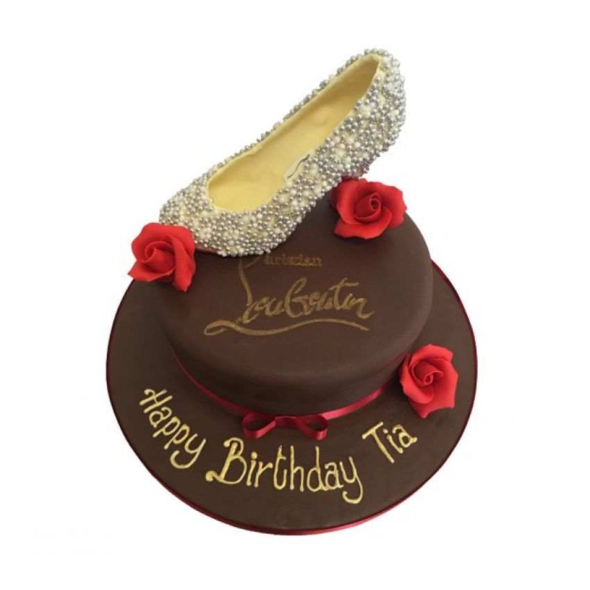 Christian Louboutin 3D Shoe Cake (feeds 15)