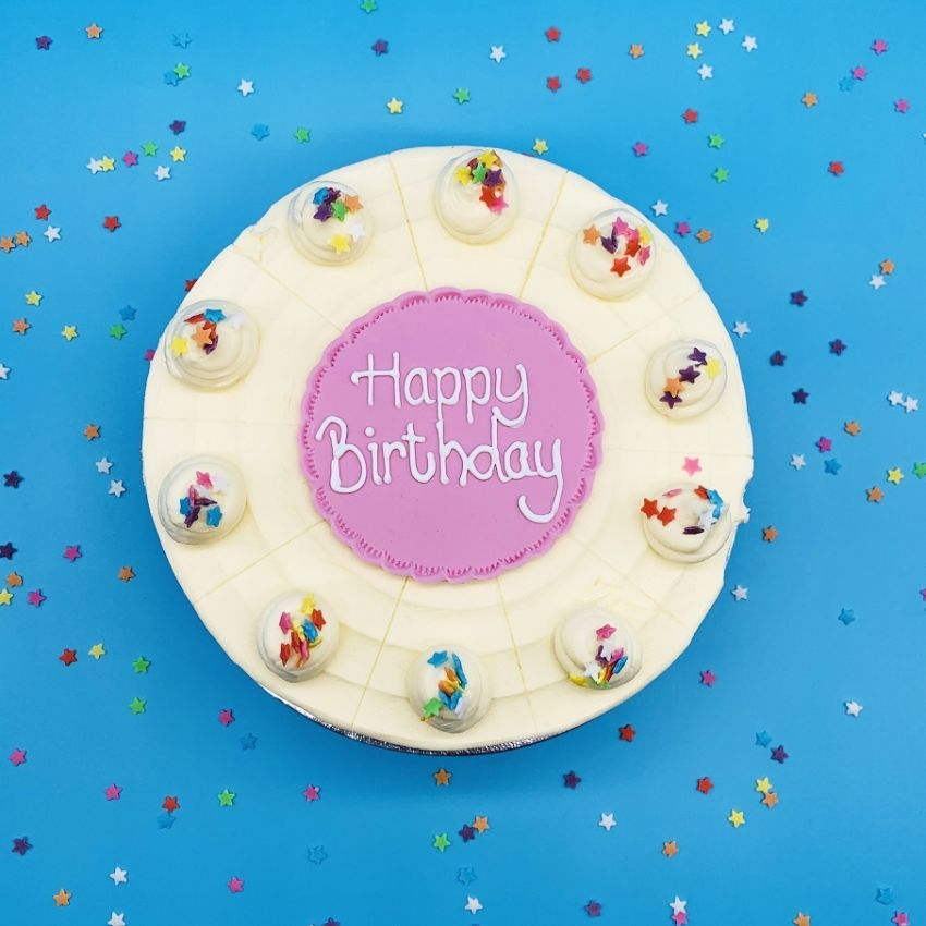 Add a Personalised Plaque to your Cutting Cake