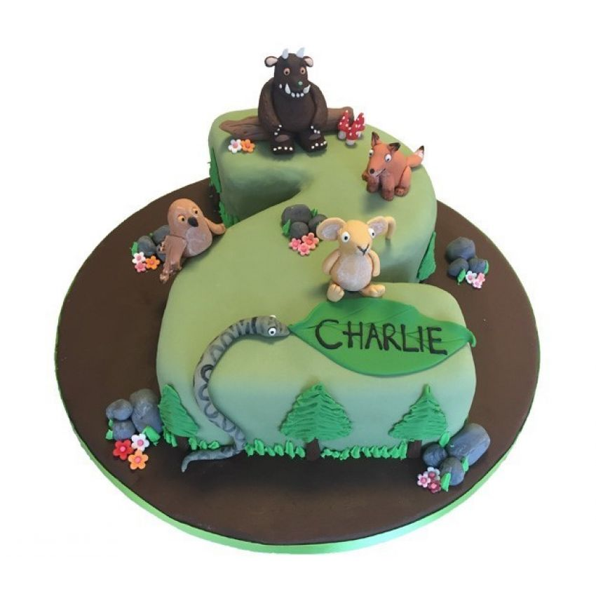 Gruffalo Number Cake (feeds 25)