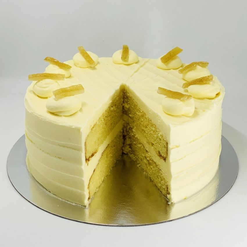 Lemon Cake (10 Large Slices)