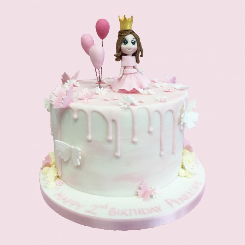 Princess Balloon Cake (Feeds 20)