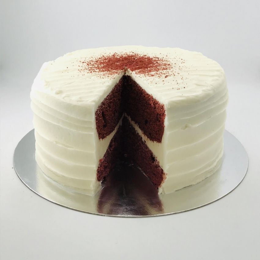 Red Velvet Cake (10 Large Slices)