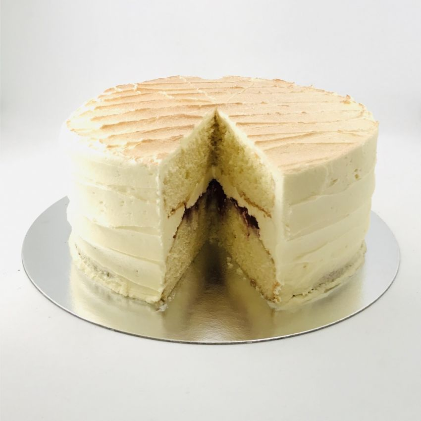 Victoria Sponge Cake (10 Large Slices)