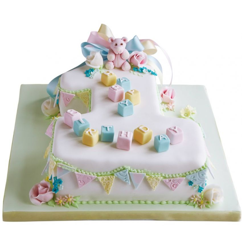 Baby's First Cake (feeds 25)