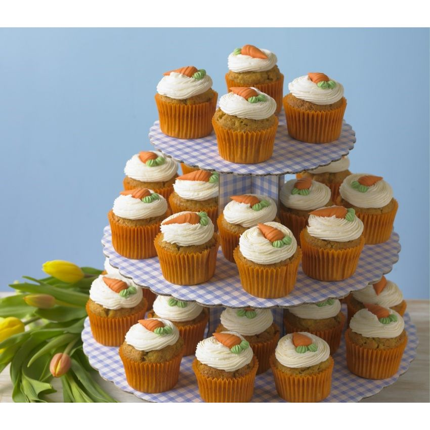 Carrot Cupcake Tower (30 Cupcakes)