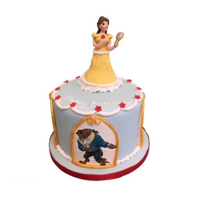 Beauty and the Beast Cake (feeds 30)