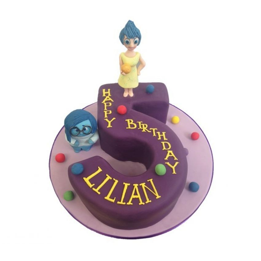 Inside Out Number Cake (feeds 25)